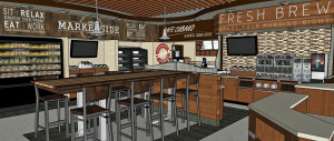 C-store Food Service and Coffee Program Remodel Counter