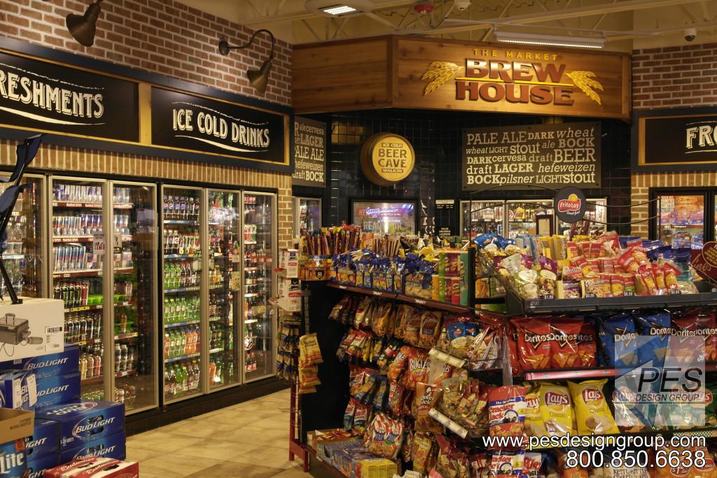 Gas N Wash C-Store Design
